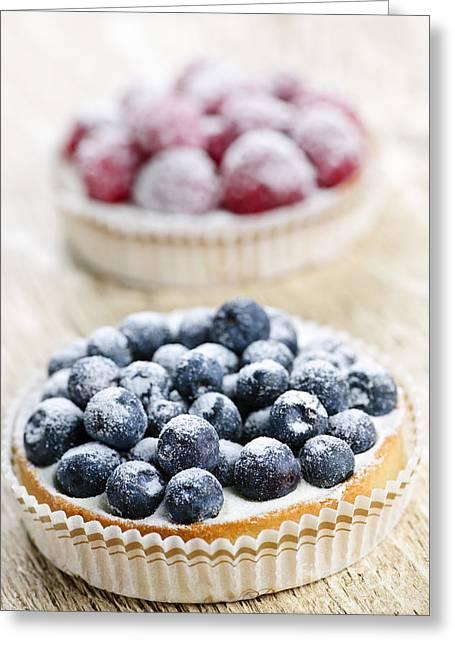 Fruit Tarts Greeting Card