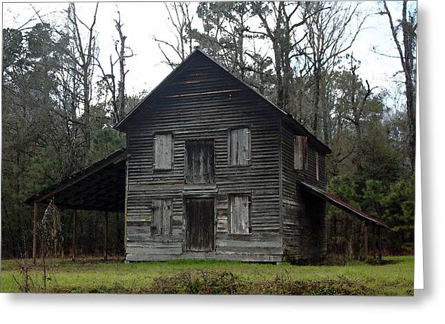 Gaskins Family Tenant House - Gallivants Ferry Greeting Card by Suzanne Gaff