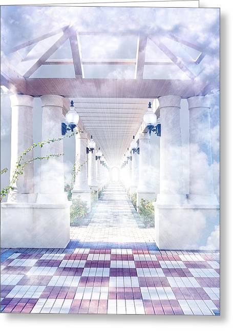 Gateway To Heaven Greeting Card