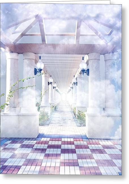 Gateway To Heaven Greeting Card