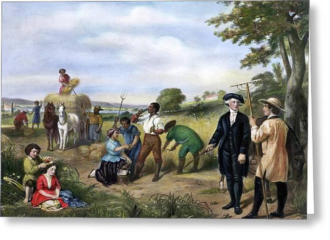 George Washington(1732-1799) Greeting Card by Granger