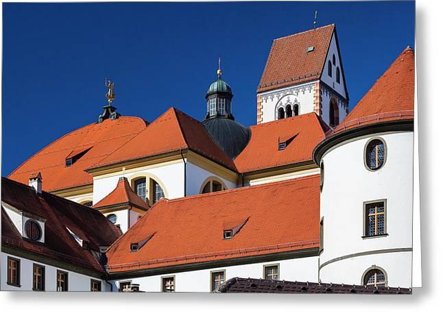 Germany, Bavaria, Fussen, St Greeting Card