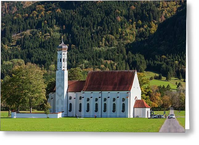 Germany, Bavaria, Hohenschwangau, St Greeting Card
