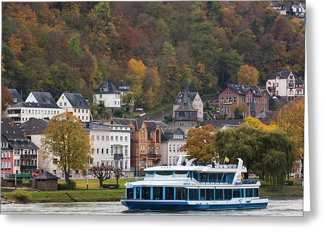 Germany, Rhineland-pfalz, St Greeting Card by Walter Bibikow