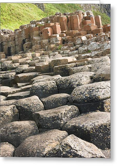 Giant's Causeway Greeting Card by Jane McIlroy