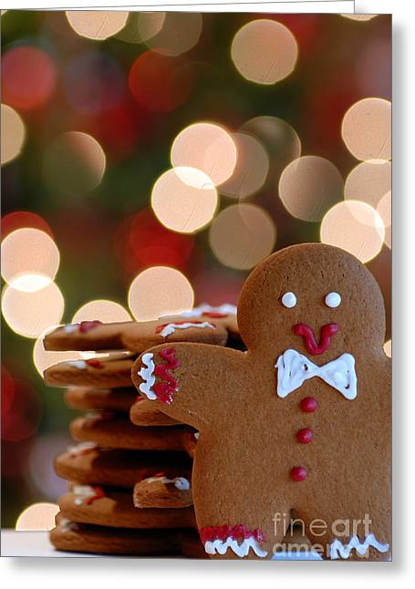 Ginger-bokeh Greeting Card by Amy Cicconi