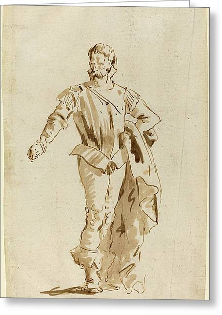 Giovanni Battista Tiepolo Italian, 1696 - 1770 Greeting Card by Quint Lox