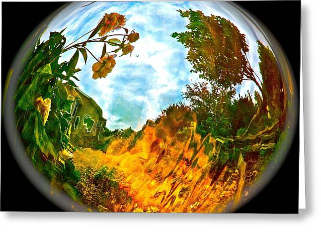 Global Warmth Greeting Card by Randy Rosenberger