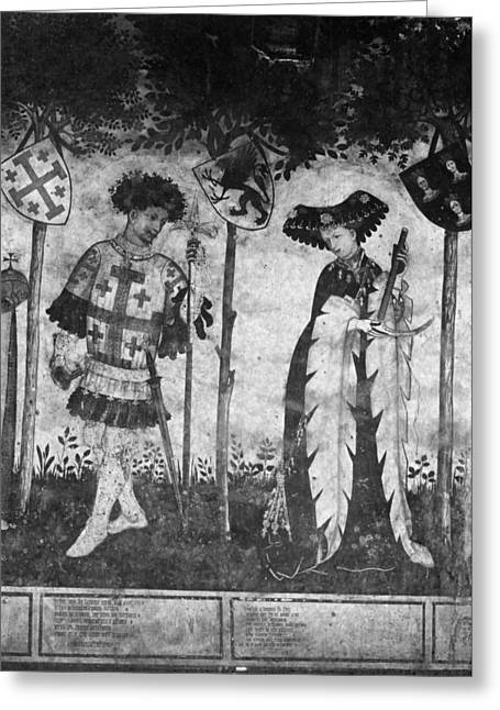 Godfrey (1058-1100) Greeting Card by Granger