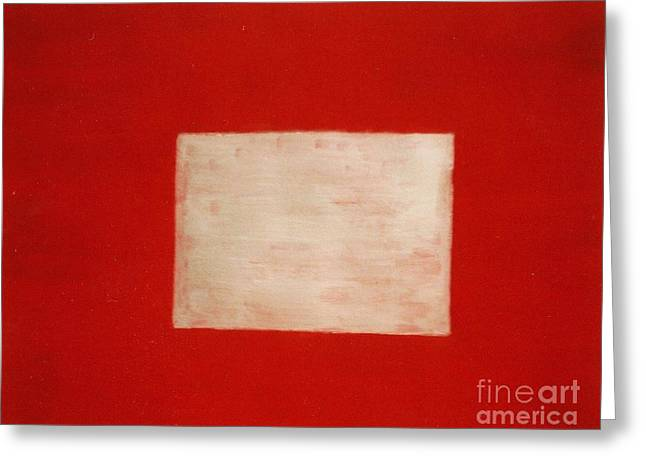 Gold Square Greeting Card