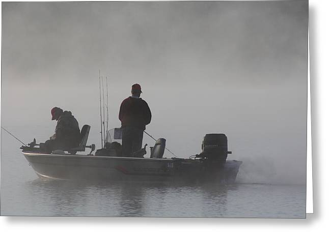 Greeting Card featuring the photograph Gone Fishing by Bruce Bley