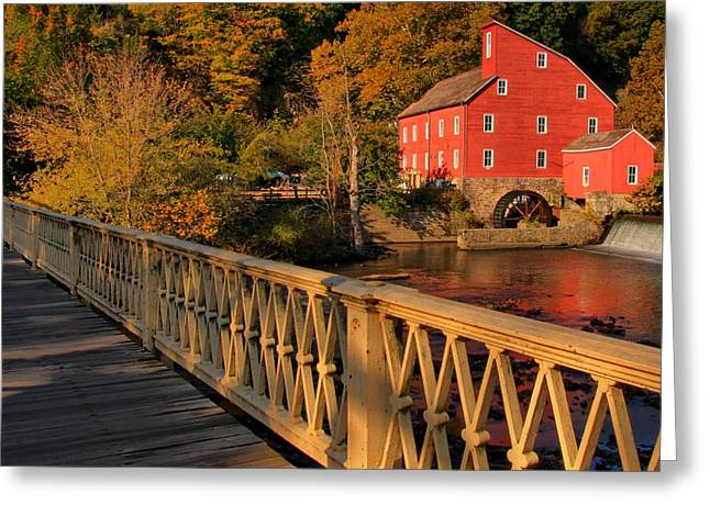 Good Morning Red Mill Greeting Card
