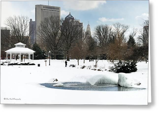 D48l3 Goodale Park Photo Greeting Card