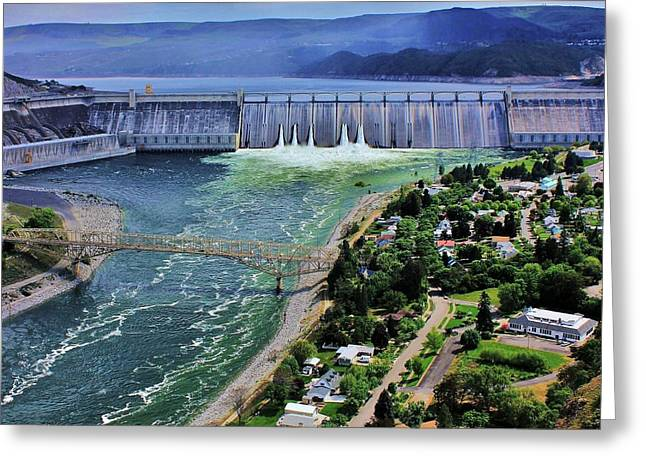 Grand coulee dam greeting cards fine art america grand coulee greeting card publicscrutiny