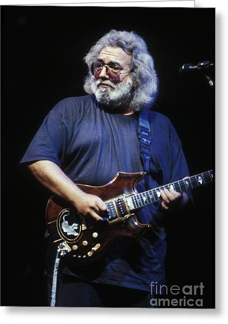 Grateful Dead - Jerry Garcia Greeting Card