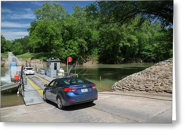 Green River Car Ferry Greeting Card