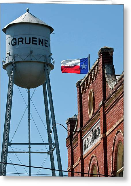 Gruene, New Braunfels, Texas Historic Greeting Card