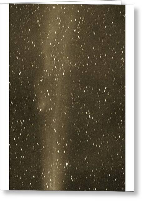 Halleys Comet In May 1910 Greeting Card by Detlev van Ravenswaay