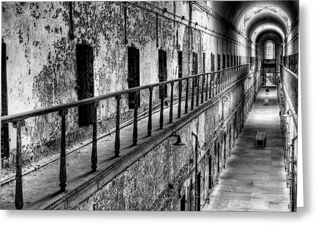 Hallway To Hell Greeting Card by JC Findley