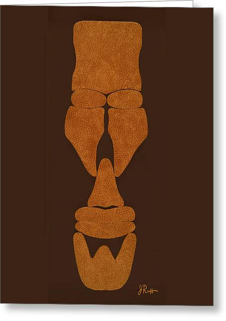 Hamite Male Greeting Card