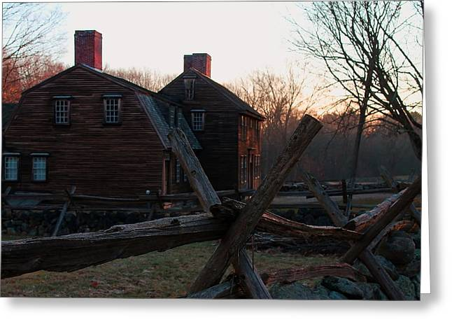 Hartwell Tavern  Greeting Card by Jeff Heimlich