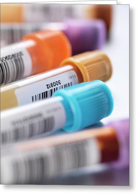Health Screening Greeting Card by Tek Image