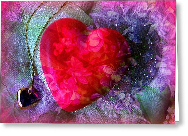 Heart Of My Heart Greeting Card by Shirley Sirois