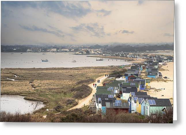Hengistbury Head - England Greeting Card by Joana Kruse