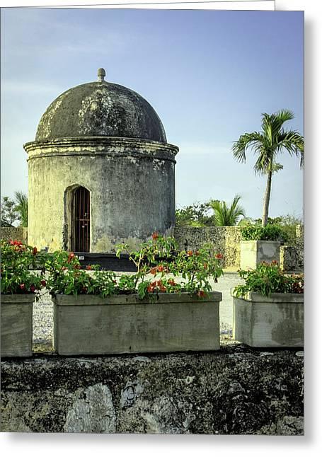 Historic Spanish Colonial Walls Greeting Card