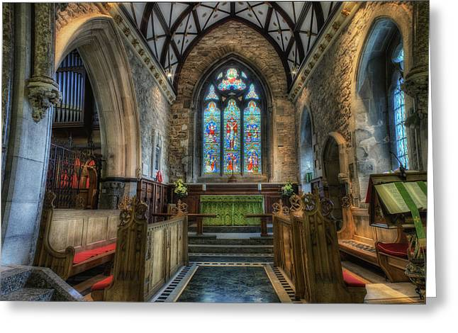 Holy Trinity Church Greeting Card