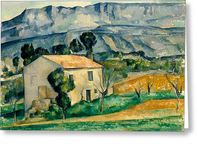 House In Provence Greeting Card by Paul Cezanne