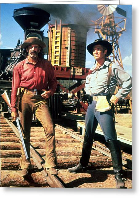 How The West Was Won  Greeting Card by Silver Screen