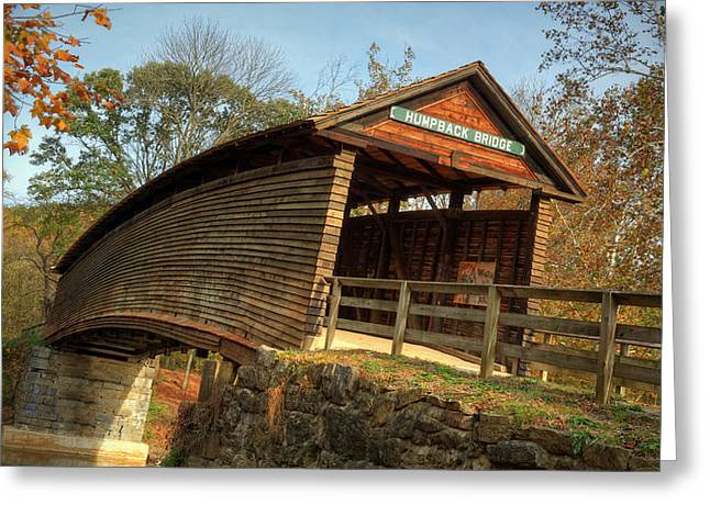 Humpback Covered Bridge Greeting Card