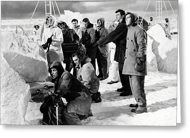 Ice Station Zebra  Greeting Card by Silver Screen