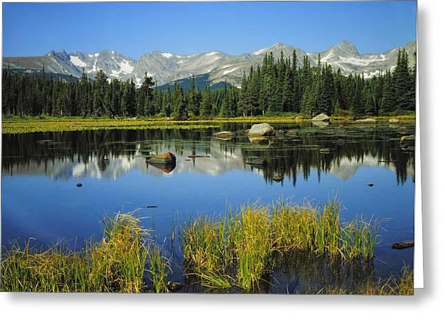 Indian Peaks Wilderness Area, Colorado Greeting Card