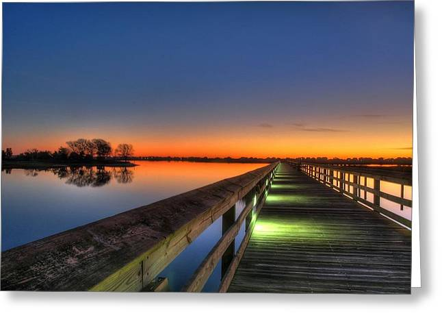 Inlet Sunrise Greeting Card