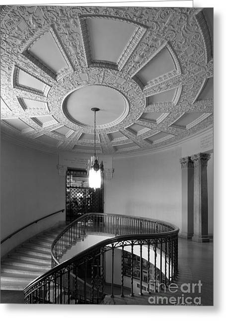 Iowa State University Memorial Union Stairwell Greeting Card by University Icons