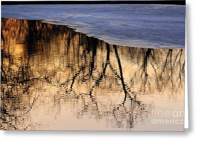 Isles Reflections Greeting Card by A K Dayton