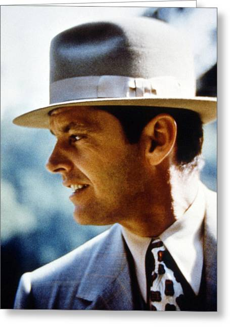Jack Nicholson In Chinatown  Greeting Card by Silver Screen