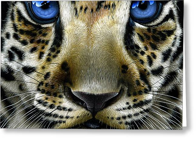 Jaguar Cub Greeting Card
