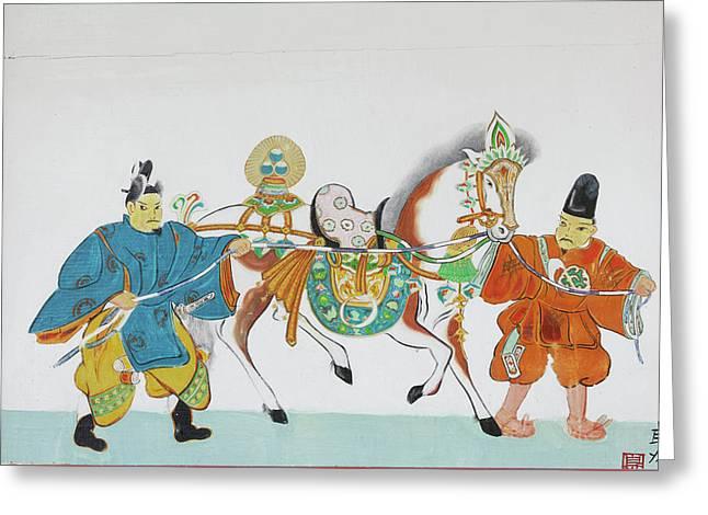 Japan, Nara Prefecture, Heguri-cho Greeting Card by Jaynes Gallery