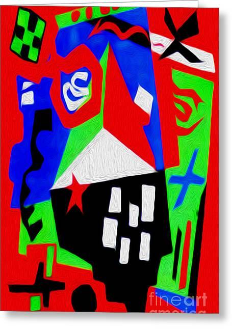 Jazz Art - 04 Greeting Card