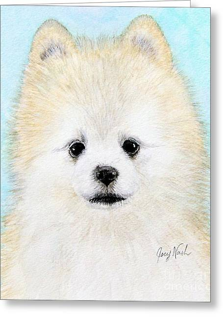 Jingles Greeting Card by Joey Nash