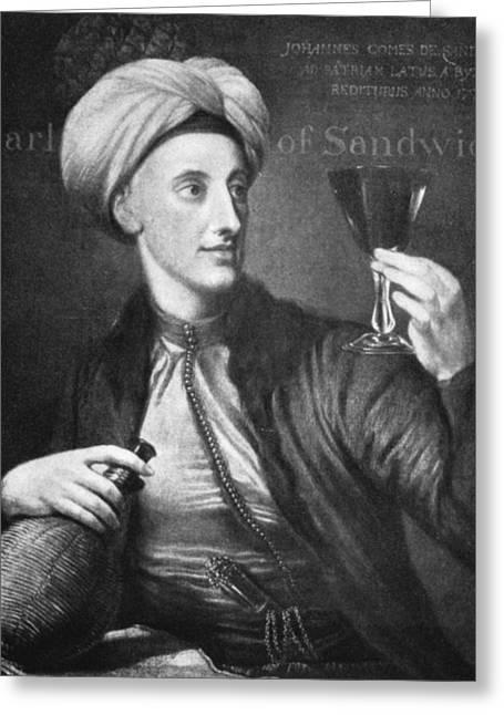 John Montagu (1718-1792) Greeting Card by Granger