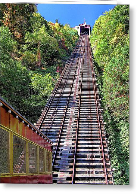 Johnstown Incline Greeting Card