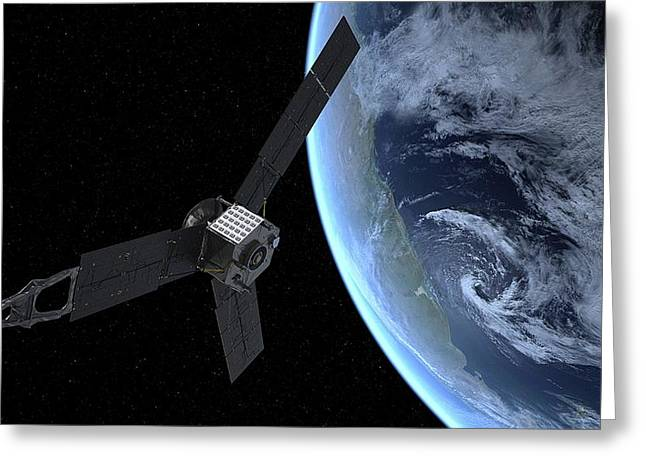 Juno Spacecraft Greeting Card by Nasa