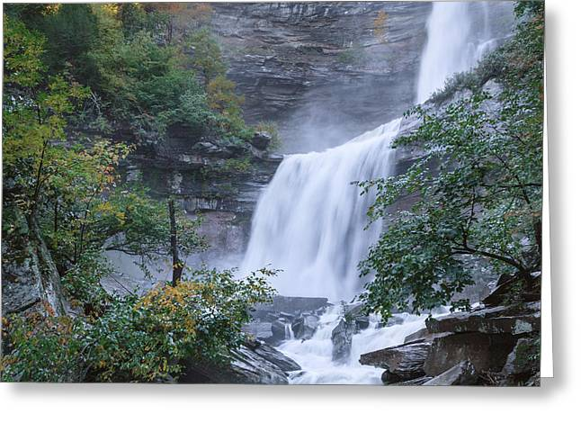 Kaaterskill Falls Square Greeting Card by Bill Wakeley