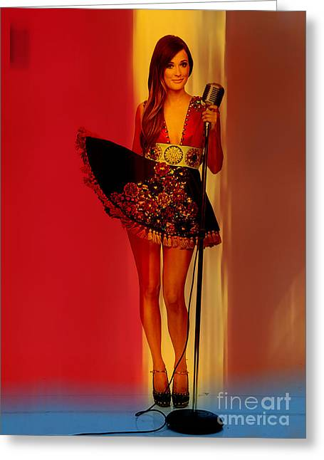 Kacey Musgraves  Greeting Card by Marvin Blaine