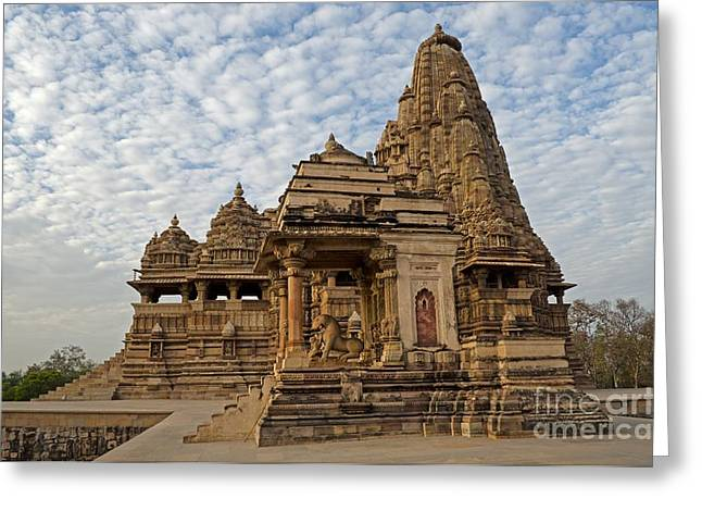 Kandariya Mahadeva Temple Khajuraho India Greeting Card