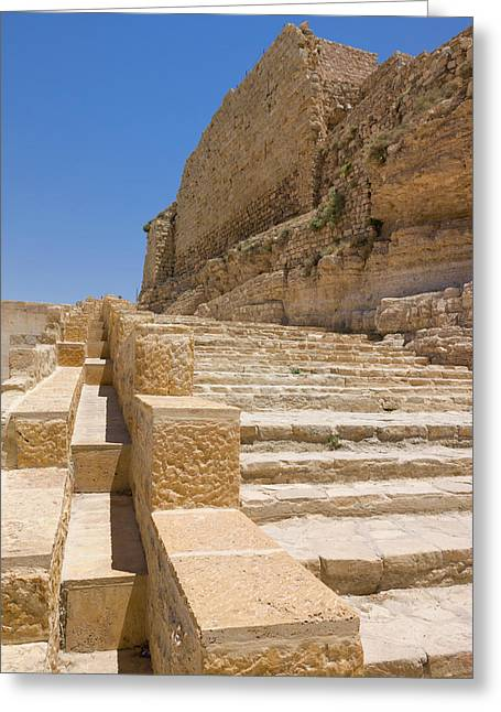 Karak Castle, Jordan Greeting Card